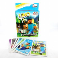 UNO Card Limited Minecraft Edition