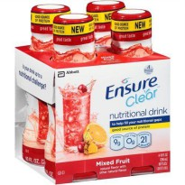 [poledit] Ensure Nutritional Drink, Clear, Mixed Fruit 40 fz (Pack of 3) (T2)/12554059