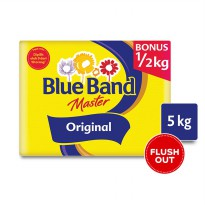 [FLUSH OUT] BLUE BAND BOX JUMBO 5KG