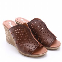 Dr.Kevin Leather Sandals 27227 Brown