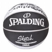 SPALDING SKETCH NBA SIZE 7 RUBBER BASKETBALL 2017 BOLA BASKET