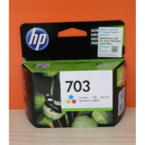 HP CARTRIDGE 703 COLOR / HP INK 703 COLOR / HP TINTA 703 COLOR