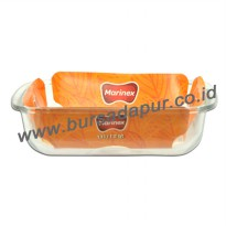 Marinex Loyang Segi-4 205x182x50 mm [1,1 L] - Bursa Dapur