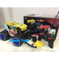 Mainan RC Mobil Jeep Cars 3 Rechargeable