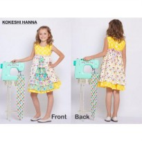 Jelly The Pug Kokeshi Hanna Dress - Baby&Kids