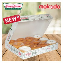 [NEW KRISPY KREME] 1 Dozzen donut original Glazed (12 pcs )