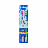 Oral-B Sikat Gigi Complete Whitening MEDIUM Isi 2