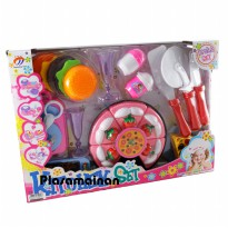 Kitchen Set 668-10 - Mainan Kue Tart Potong - Ages 3+