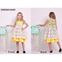 Jelly The Pug Kokeshi Sassy Dress - Baby&Kids