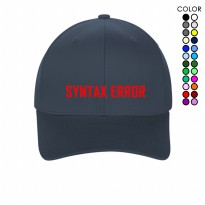 PROMO LITTLE CUSTOM TOPI BASEBALL CAPS SYNTAX ERROR TUMBLR UNISEX PRIA & WANITA 179T