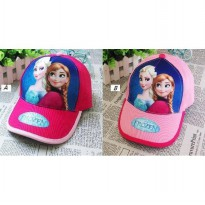 0695 Topi Frozen All Size (Fit to 2-7 Tahun)