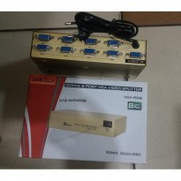 vga spliter 8 port original gaintech 1x8 port vga splitter