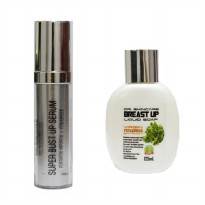DSC SUPER BUST UP SERUM + DSC BREAST UP LIQUID GEL PEMBESAR PAYUDARA