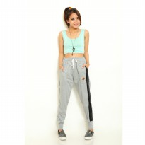 Women's Jogger Pants with Side List - Carlton