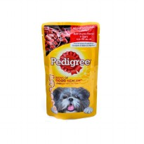Dog Food / Makanan Anjing Pedigree Pouch Beef 130 Gram ( Wet Food )