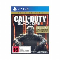Call of Duty Black OPS III Gold Edition Game PS4 (R2)