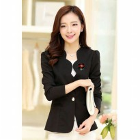 Jfashion New Women Blazer With Bross Long SLeeve - Linda