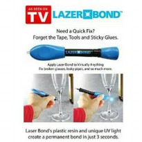 LAZER BOND / LASER MAGIC / PEREKAT LEM AJAIB 3 SECOND FIX