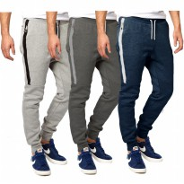 J fashion | Celana Panjang Jogger | Men's Jogger Pants With Pocket Zipper | Atlanta
