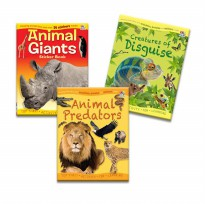 Amazing Animals Facts with Activities, Puzzles and Stickers Inside!
