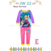 Piyama Anak Junior Wardrobe 22E Frozen