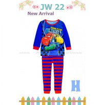 Piyama Anak Junior Wardrobe 22H Limit Cars