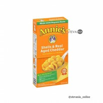 Annie's Macaroni and Cheese - Shells and Real Aged Cheddar 170GR