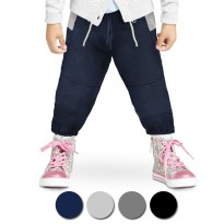 Jfashion Kid's Basic Jogger Pants - Kenz | Bahan Baby Terry | Umur 3-5 tahun