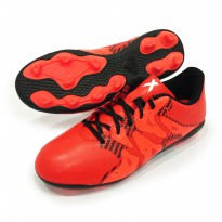 Sepatu Bola Adidas X 15.4 FxG S83159 Bold Orange White Solar Orange Original