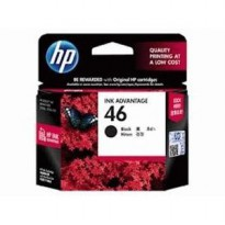 Ink Cartridges - HP - Black Ink Cartridge HP 46 (CZ637AA)
