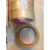 Tape - Daimaru - OPP Transparant 24 mm x 72 Yards (in indonesia usually refer to 1 inch)