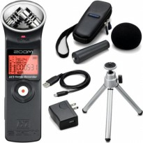 Zoom H1 Handy Recorder + Acc Pack
