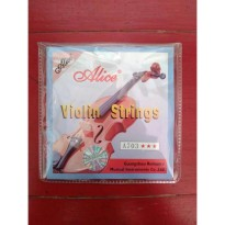 senar biola / violin strings alice