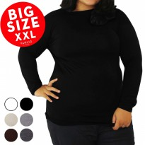 GROSIR SERI 6pcs [ BIG SIZE ] Manset Turtle Neck Long Sleeves