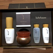 SULWHASOO CONCENTRATED GINSENG TRIAL SET (LIGHT) 50TH ANNIVERSARY EDITION