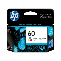HP 60 COLOR / TRI-COLOR ORIGINAL INK CARTRIDGE