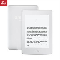 All-New Kindle E-Reader, 6 Glare-Free Touchscreen Display, Wi-Fi - Includes Special Offers - White