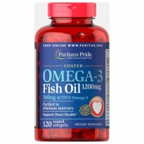 Puritan's Pride Omega-3 Fish Oil 1200 mg (360 mg Active Omega-3) 120s