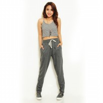 Women's Jogger Pants With ZIpper
