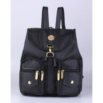Catenzo Tas Backpack Wanita RHx619 Black