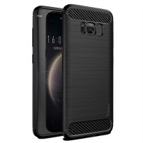 iPaky Soft Carbon Shockproof Back Case for Samsung Galaxy S8 / S8 plus