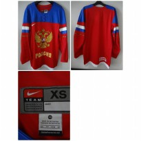 Jersey Hockey Olympic Rusia Original
