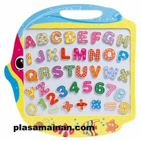 Double Side Fishing And Writing Board - Mainan Edukasi Anak - Ages 3+