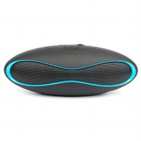 Ubit Mini Portable Bluetooth Speaker Biru
