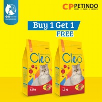 Buy 1 Get 1 Cleo Beef Adult Cat - 1,2kg