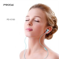 Earphone Headset Original Proda PD-E100 3D Embossed printing