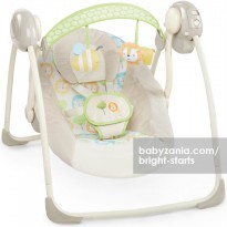 Bright Starts Ingenuity Portable Swing - Sunny Snuggles