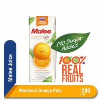 Malee Juice Mandarin Orange Pulp 200 ml