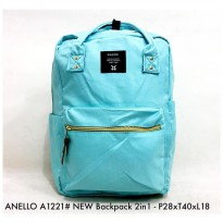 Tas Wanita Fashion New Backpack 2in 1 A1221 - 4