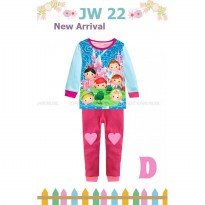 Piyama Baby Junior Wardrobe 22D Princess Tsum Tsum